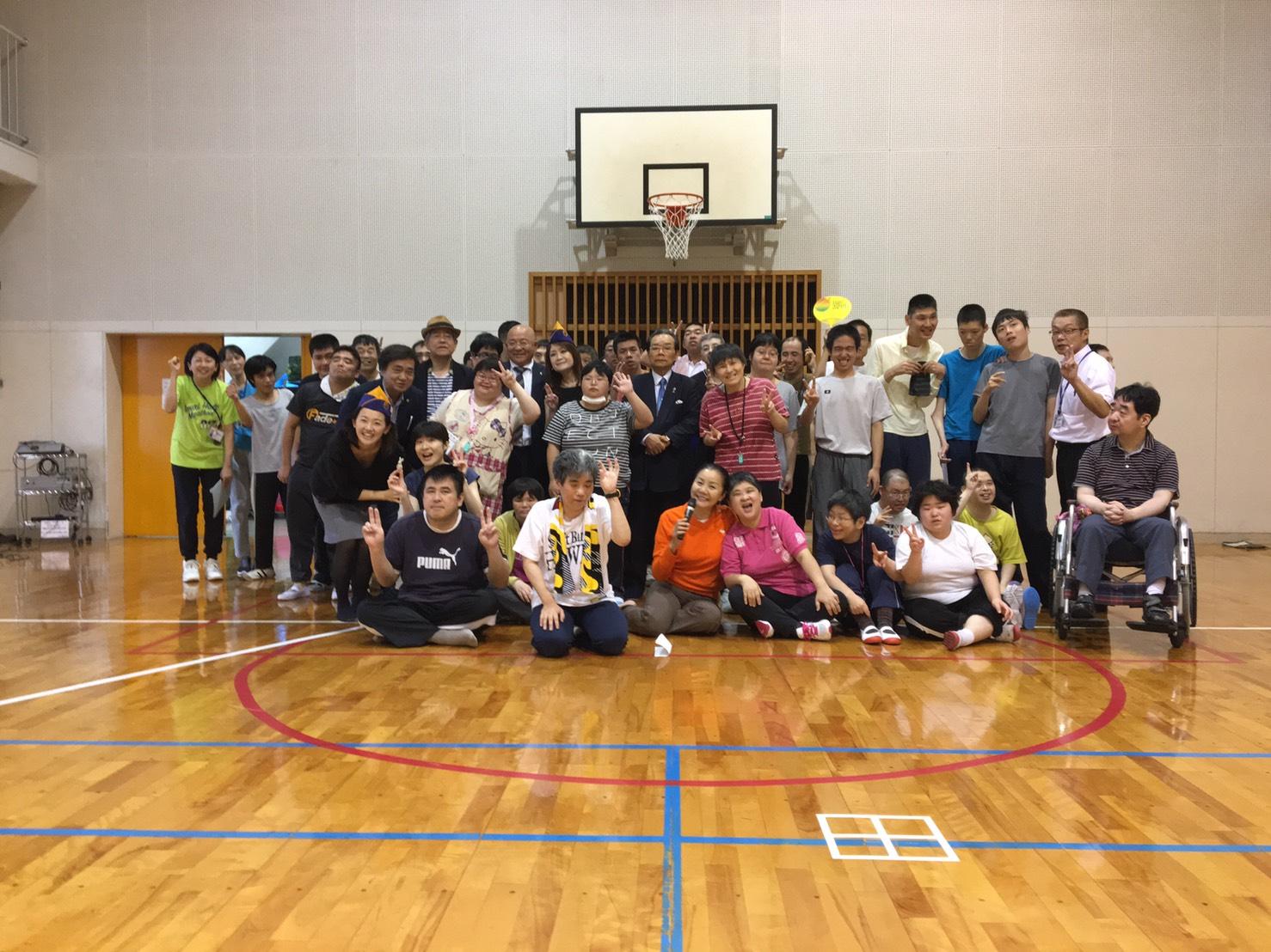 福岡大樹ライオンズクラブ ももち福祉プラザへの訪問