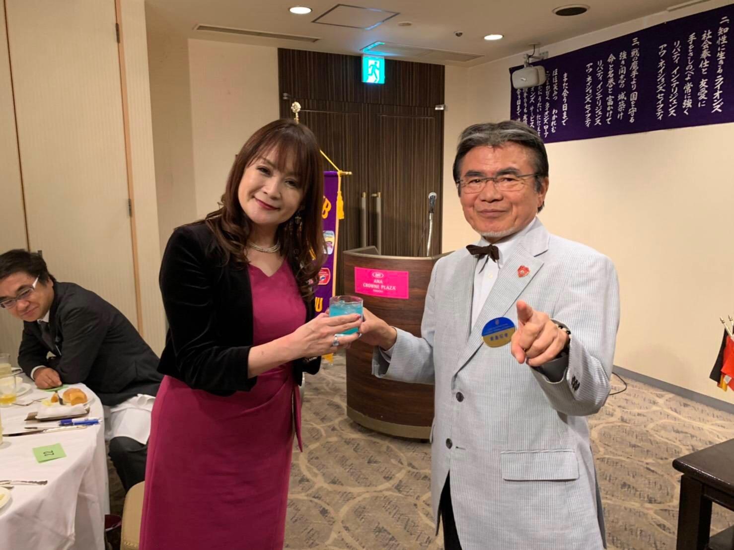 20191029合同例会_カクテルショー