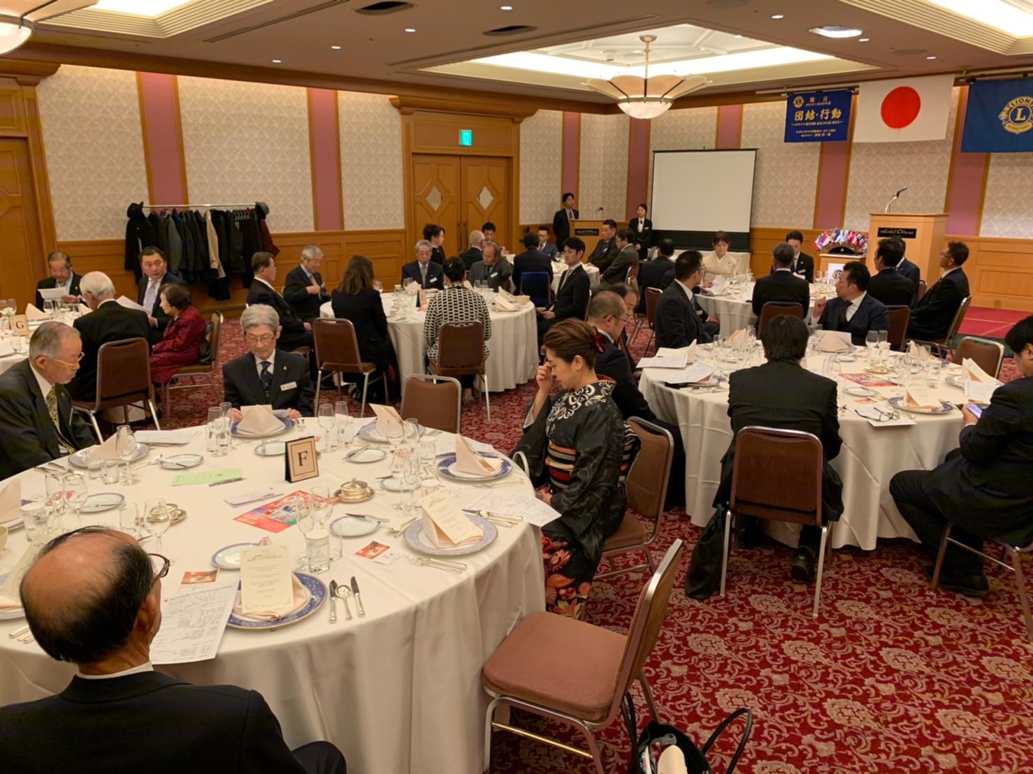20200109-福岡鶴城LC、福岡ベイシティ21LC、福岡大樹LC、3クラブ合同新年会