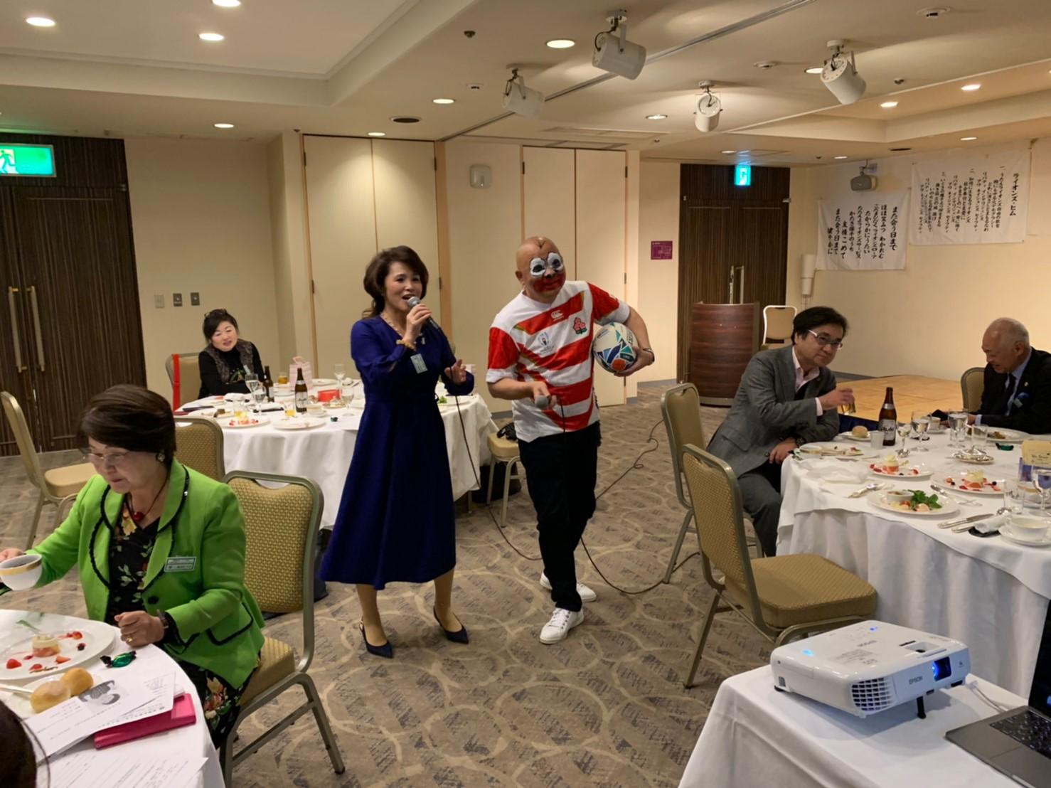 20191225クリスマス例会_素敵なデュエット