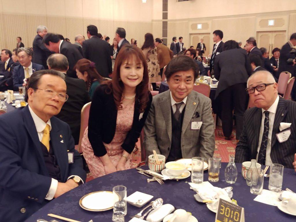 鹿児島第一ライオンズクラブ結成40周年記念大会に参加いたしました。/福岡大樹ライオンズクラブ