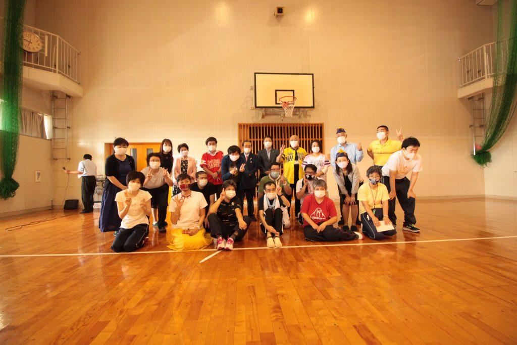 2020年9月1日ももち福祉プラザ訪問-福岡大樹ライオンズクラブ
