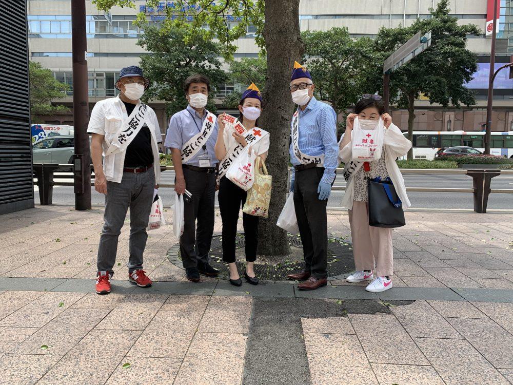 2020年8月3日該当献血-福岡大樹ライオンズクラブ